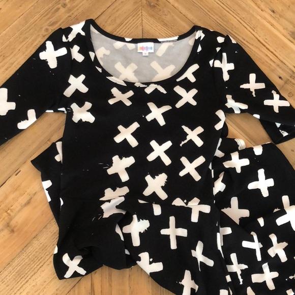 LuLaRoe Dresses & Skirts - LulaRoe Nicole Dress X print